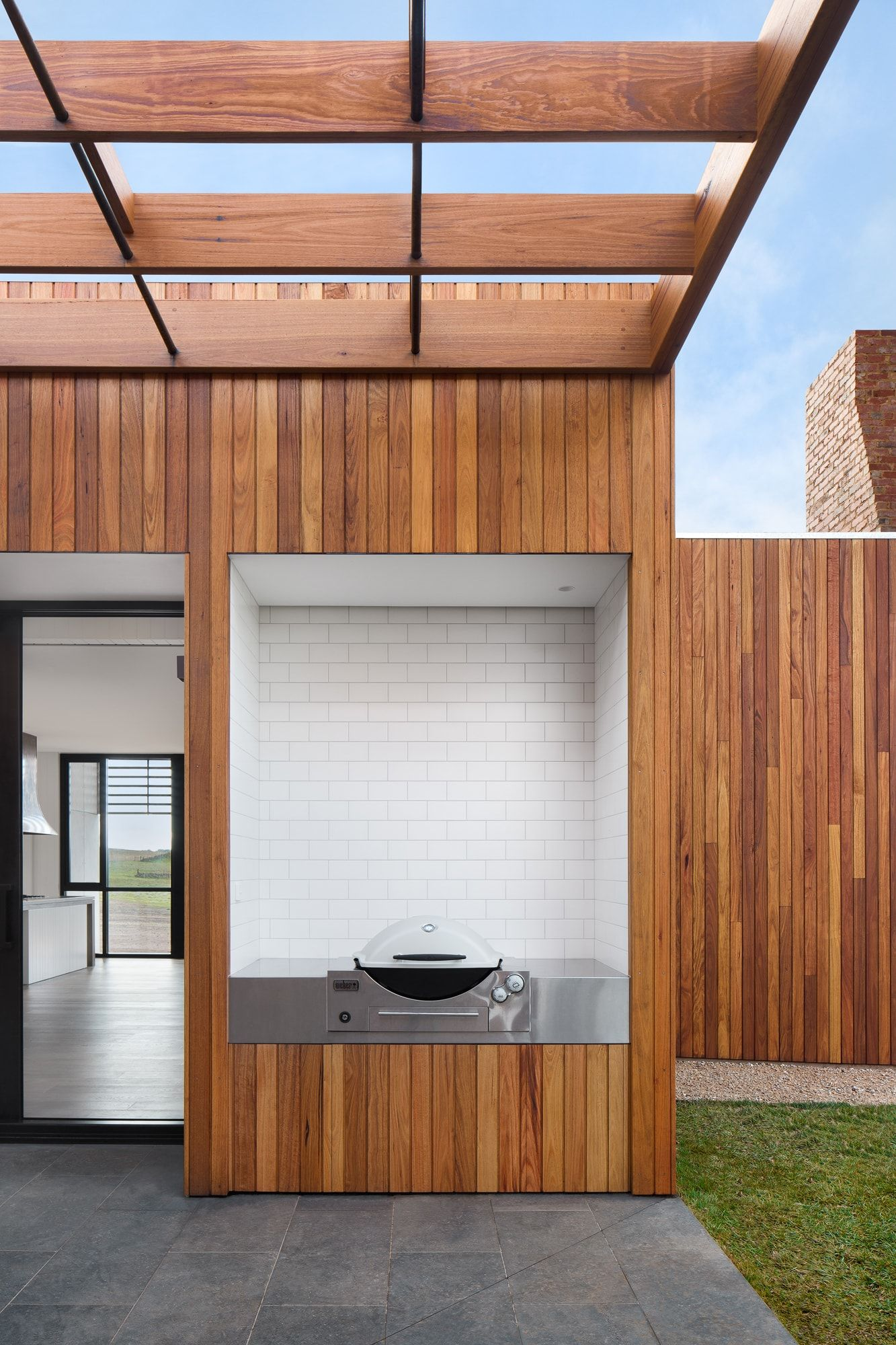 Evolve Projects - Kyneton House Outdoor Area